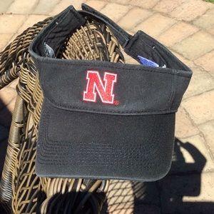 Nebraska sun visor pre-owned
